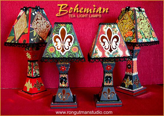 Bohemian Tea Light Lamps Image. U201c